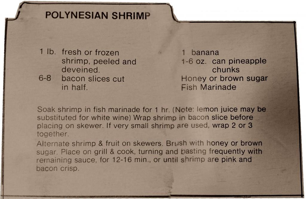 polynesian shrimp