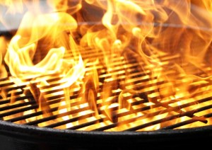 Grilling Fire Flashback