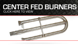 center fed burners