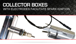 BBQ Electrode with collector box