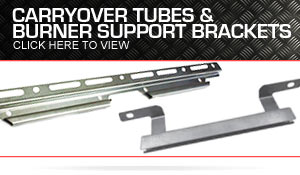 Carryover Tubes and Burner Support Brackets