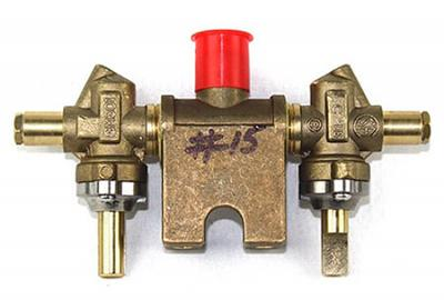Charmglow Natural Gas Valve Assembly, Brass