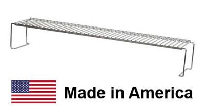 """USA-Made ProFire / MHP 26"""" LX Series Warming Rack, Stainless Steel"""