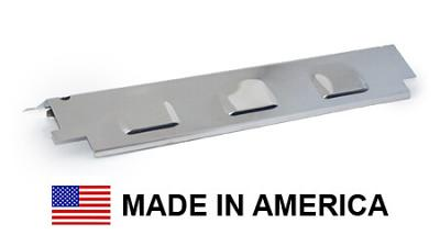 """USA-Made Charbroil Heat Plate, Stainless Steel 