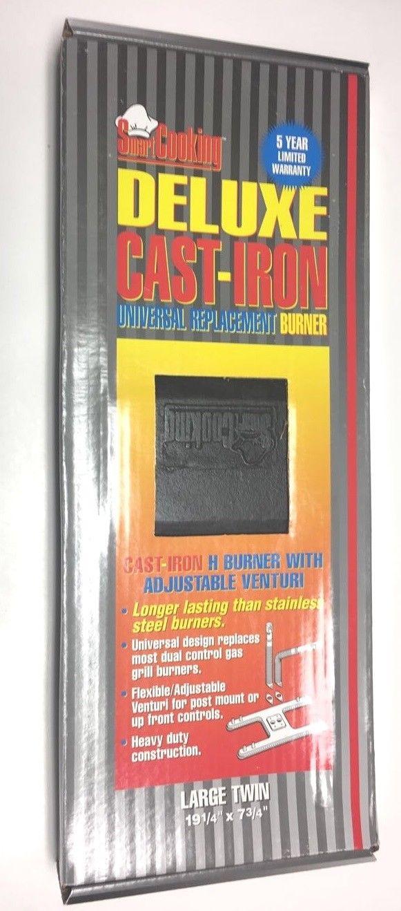 Cast Iron Large Twin Universal H Burner W Venturis 19 1