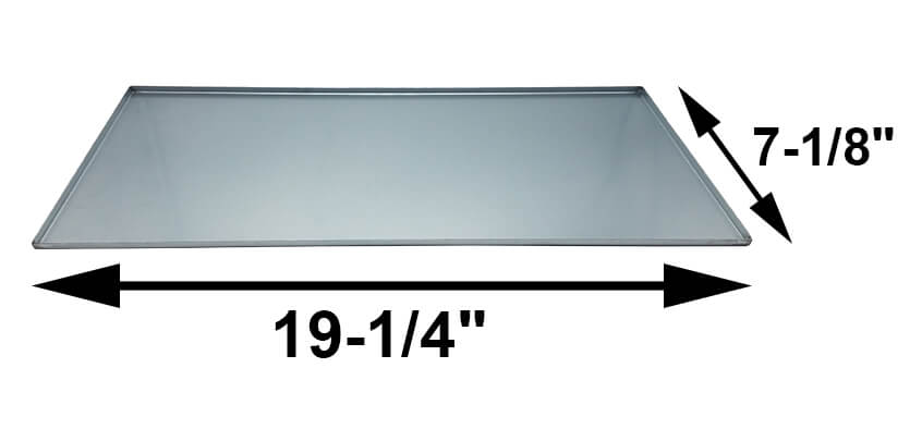 Usa Made Dyna Glo Drip Pan 7 1 8 Quot X 19 1 4 Quot