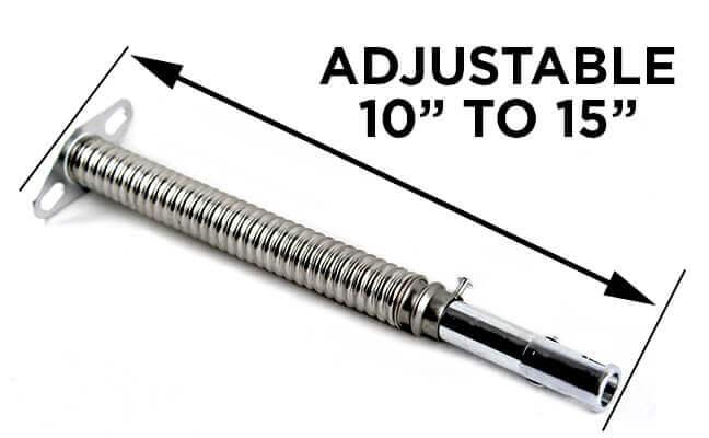 Adjustable Flex Venturi Stainless Steel 2 Required For