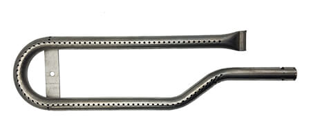 "Centro Curved Burner (Right), Stainless Steel | 15-5/8"" x 4-3/8"""
