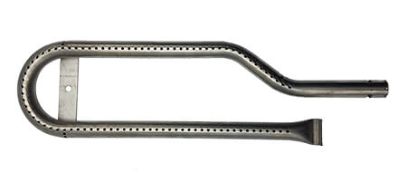 """Centro Curved Burner (Left), Stainless Steel 