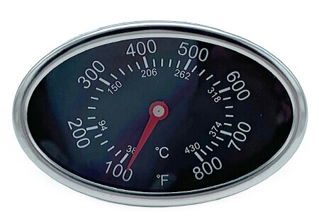 Temperature Gauge Heat Indicator 2 7 8 Quot X 1 7 8 Quot