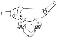 Brass Clamp-On-Valve - Nexgrill, Turbo