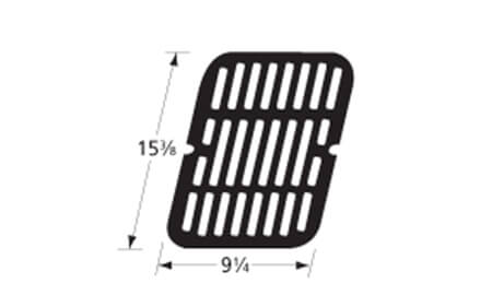 "Brinkmann Cooking Grid, Porcelain-Coated | 15-3/8"" x 9-1/4"" (Multiple Required)"
