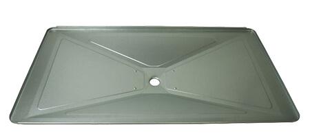 "Dyna-Glo Drip Pan / Grease Pan, Aluminized Steel | 15-1/4"" x 28-5/8"""