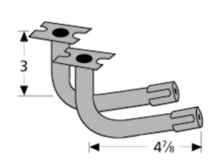 "Arkla Venturis (2) w/Up-Front Controls | 4-7/8"" x 3"""