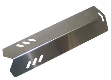 "Uniflame / Backyard Grill Heat Plate, Stainless Steel | 12-7/8"" x 3-11/16"""