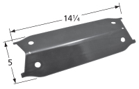 "Brinkmann Heat Shield, Porcelain Steel | 14-1/4"" x 5"""