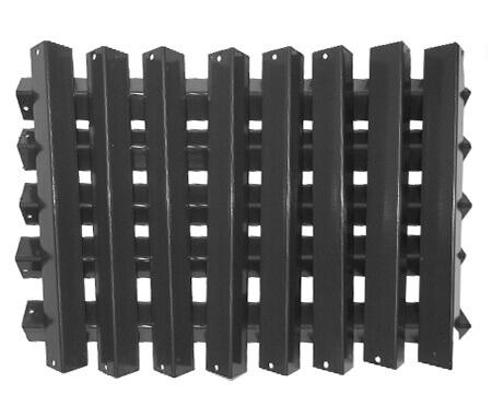 "Weber Heat Shield, Porcelain Steel, (13) Pieces | 15-7/8"" x 23-3/8"""