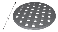 Cast Iron Heat Plate - Big Green Egg