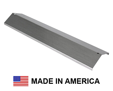 USA-Made Brinkmann Heat Shield, Stainless Steel | 15-3/8″ x 3-11/16""