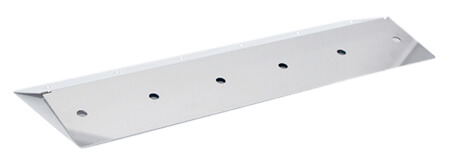 """Coleman Gas Grill Parts: Stainless Steel Heat Plate 16 1/2"""""""