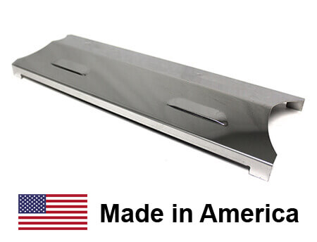 USA Made Master Forge Heat Plate, Stainless Steel | 15-3/4″ x 5-1/4″