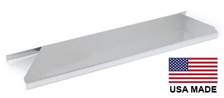 USA-Made Nexgrill Heat Plate, Stainless Steel | 13-13/16″ x 4-1/4″