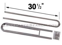 "Charbroil ""U"" Burner, Stainless Steel | 30-1/2"" x 4"""