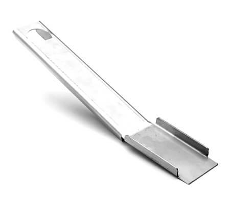 Scraper for Drip Pans / Grease Trays, Stainless Steel | 10""