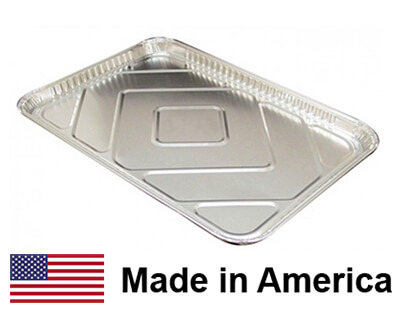 """USA-Made Drip Pan Liner, Aluminum, 1 ct.   17-13/16"""" x 25-13/16"""""""