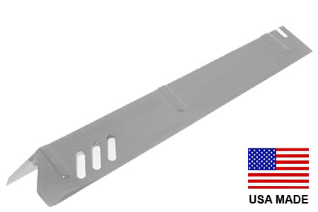 USA-Made Uniflame Heat Shield, Stainless Steel | 15″ x 3-3/4″