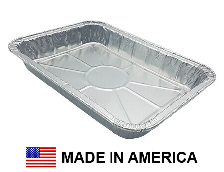 "USA-Made Weber Drip Pan Replacement, Aluminum, 1 ct. | 8"" x 6"""