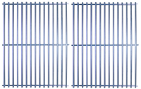"Stainless Steel Cooking Grid Set - 17-7/8"" x 27-3/4"""