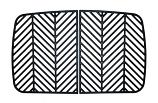 "Cast Iron Cooking Grid Set - 17"" x 26-3/4"""
