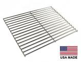 USA-Made Cooking Grid, Stainless Steel (2 Required) | 15″ x 11-3/8″