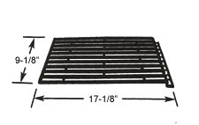 "Cooking Grid, Porcelain Cast Iron - Fiesta (3 Required) - 17-1/8"" x 9-1/8"""