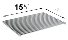 "Stainless Steel Cooking Grid - 15-3/4"" - 12"""