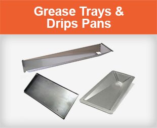Grease Trays and Drips Pans